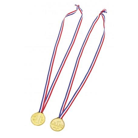 Aukso spalvos medaliai