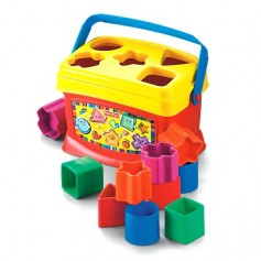 Fisher Price kaladėlės su dėžute K7167