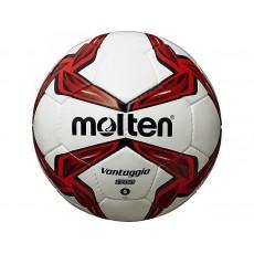 Futbolo kamuolys MOLTEN F5V1700-R white/red