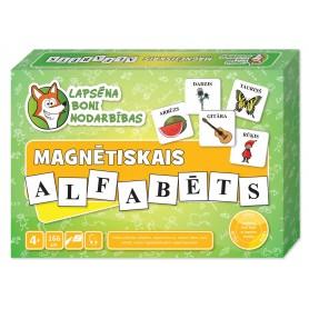 Latvių kalbos magnetinė abėcėlė