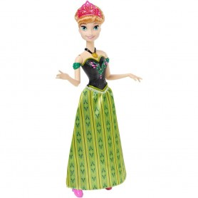 Disney princesės Anna iš Ledo šalies dainuojanti