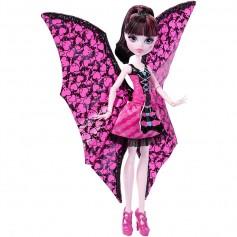 Monster High lėlė Draculaura šikšnosparnė