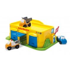 Linksmųjų automobiliukų garažas, 34 x 28 x 12 cm
