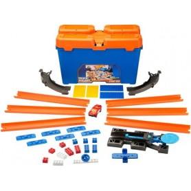 Hot Wheels Track Builder startinis rinkinys su dėže