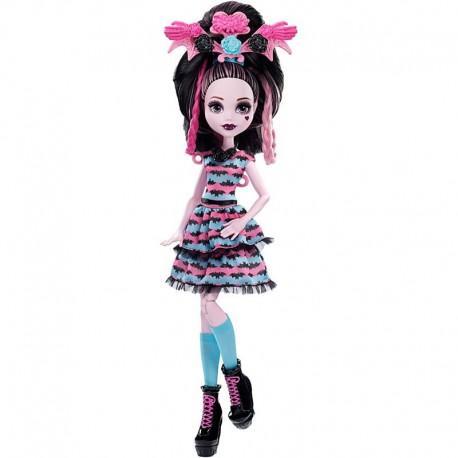 Monster High lėlė Drakulaura ilgaplaukė