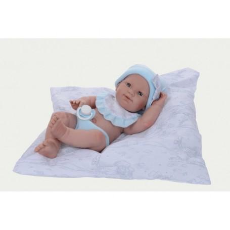 Kūdikis su pagalve. Berniukas, 37 cm