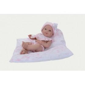 Kūdikis su pagalve. Mergaitė, 37 cm