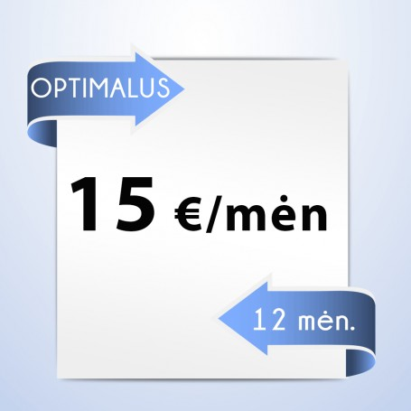 Planas OPTIMALUS (12 mėn)