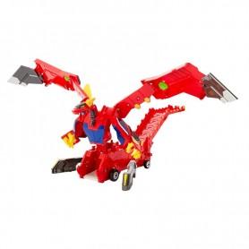 Mecard Mega transformeris Raudonasis drakonas