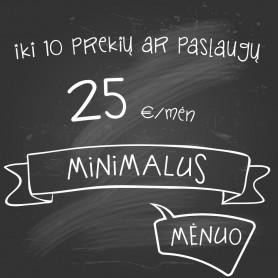 Planas Minimalus MĖNUO (1 mėn)
