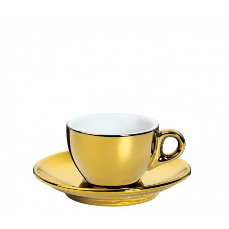 "Puodelis espresso kavai ""ROMA"" gold"