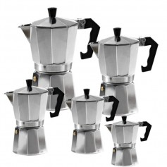 """Espresso kavinukas """"ALU"""" (3-6-9-12 puodelių)"""