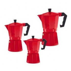 """Espresso kavinukas """"ITALIANO ROSSO"""" (3, 6 ir 9 puodelių talpos)"""