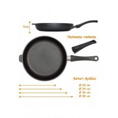 "Keptuvė 24-26-28cm. ""Eurolux"""