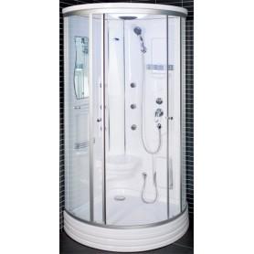 Dušo kabina 103x103x217cm LED 6015