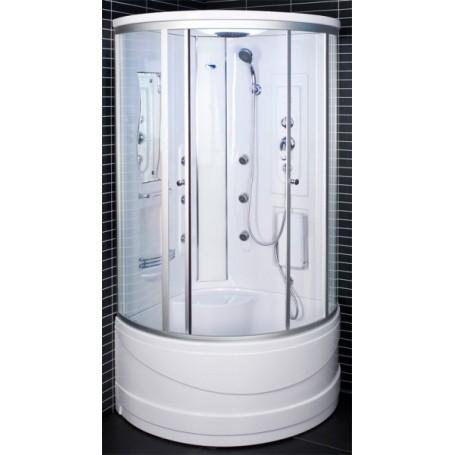 Dušo kabina 103x103x217cm LED 6025