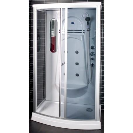 Dušo kabina masažė 115x85x217cm LED 6030