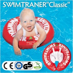 Plaukimo ratas Swimtrainer Classic raudonas